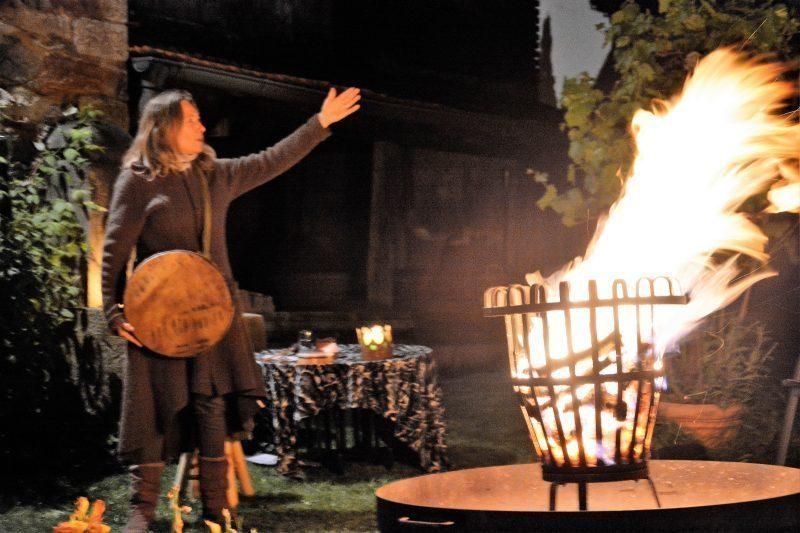 Sarah und das Feuer